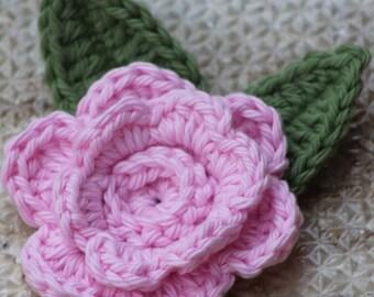 Crochet fleurs, fleurs de printemps, fleurs crochet, fournitures d'artisanat, faux fleurs, applique de fleur, en formes de fleurs, décor de printemps, rose