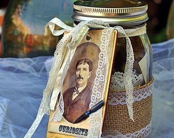 Back of China or treasure jar