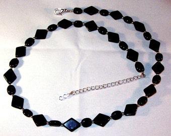 Black Diamonds Necklace