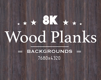 8k Seamless Wood Planks Backgrounds