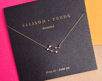 Zodiac Collection Gemini Necklace