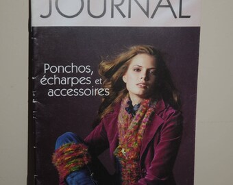 "Book: ""Journal"" ponchos, scarves and accessories"