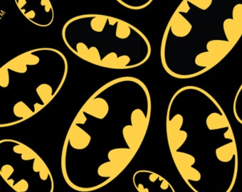 Batman Logo from David Textiles - Full or Half Yard
