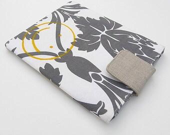 Nook Glowlight Sleeve, Nook Simple Touch Sleeve, Original Glowlight, Sherlock Wallpaper Sleeve, Sherlock Smiley Face Sleeve, Gift Under 15