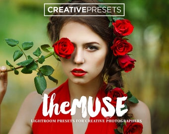 "30 Romantic & Dreamy Lightroom Presets for Photographers ""The Muse"" Adobe Lightroom Presets for 4, 5, 6 and CC"