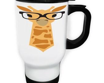 Giraffe travel mug | Etsy