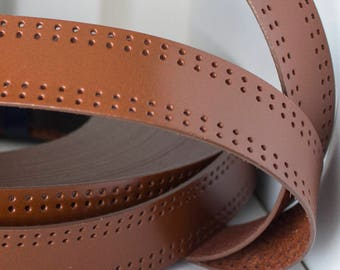 35 MM FLAT LEATHER