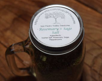 Rosemary and Sage Salt