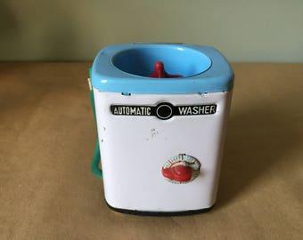 1960s Doll House Washing Machine Toy Washer