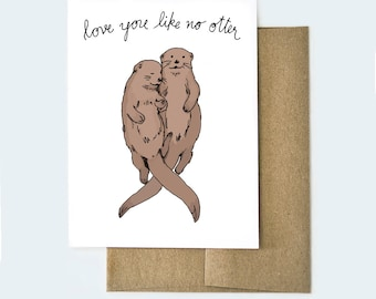 Cute Valentines Day Card, Punny Card, Funny Valentines Day Card, Card for Boyfriend, Card for Girlfriend, Anniversary Card, I Love You Card