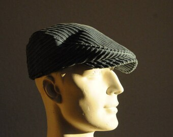 vintage Blue Velvet Hat