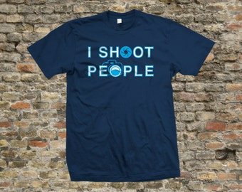 I Shoot People Photography T Shirt 100% cotton - 2129