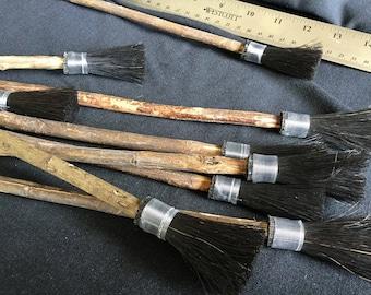 Marbling Brush Turkish Paint Brush Whisk Ebru Marbled Paper Handmade Horsehair Rosewood Size 14 Marbling Supplies