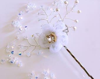 Wedding hair clip / hair clip / bridesmaids gift