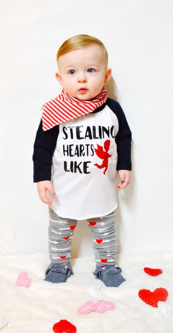Items similar to Baby Boy Valentines Outfit, Boy Clothing ...  |Baby Boy Valentine Outfit