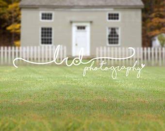 Digital Backdrop/Old Farm Village House/Newborn/Baby/Children/Family/Photography/Prop/Fall/Autumn/Tree/Overlay/Pet/Christmas