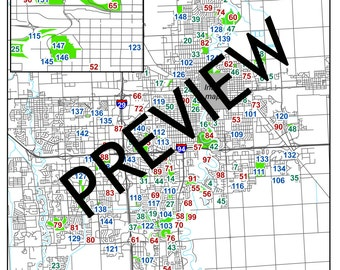 Fargo, North Dakota / Moorhead, Minnesota Park Passport - a map and list of city parks to visit and enjoy - DOWNLOAD