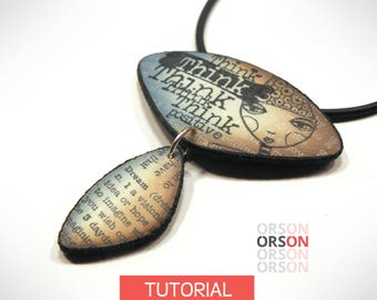 Orsons Any Dream Will Do - Stamping fun in polymer clay Original tutorial e-book