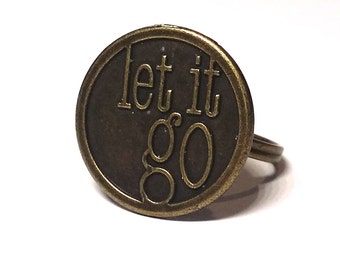 Let It Go Ring