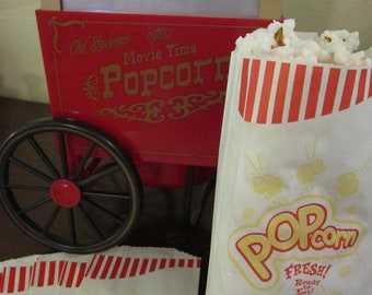 Popcorn Bags ~ Favor Bags ~ Goodie Bags ~ Set of 25