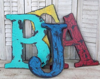 Rustic Wall Letter~Shabby Chic Wood Letter~Wedding~Wall Letter~Your Choice Letter~Wall Gallery