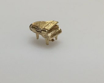 9ct Gold Grand Piano Charm