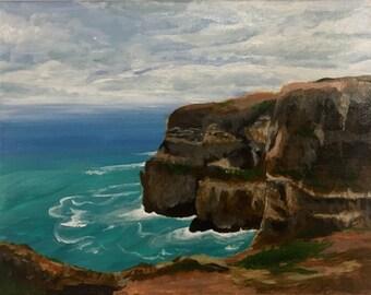 Original Acrylic - The Italian Coast