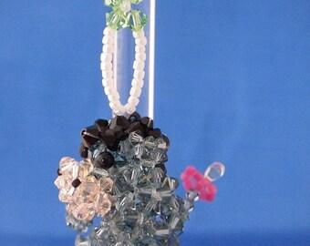 Eeyore Suncatcher in Swarovski Crystal