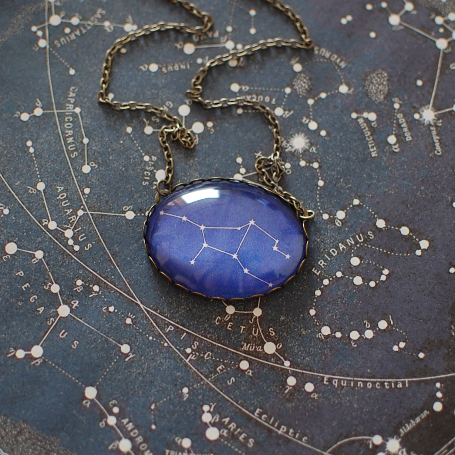 constellation charm necklace thatch virgo catalog constellations