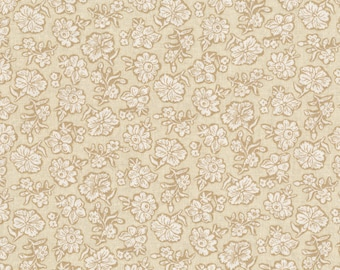 RJR - Shadow Flower, Cream - River Song by Lynette Jensen (3058-003) - Reproduction