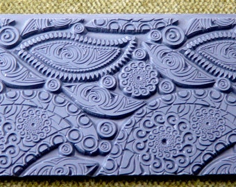 PAISLEY PARTY  Retro Texture Tile Stamp  TTL-283