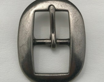 "3/4"" Antique Nickel Cart Buckle"