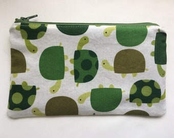 Reusable Snack Bag, Kid Snack Bag, Turtle