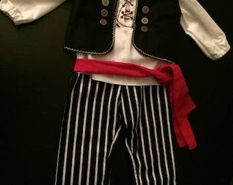 Costume pirate 3 years