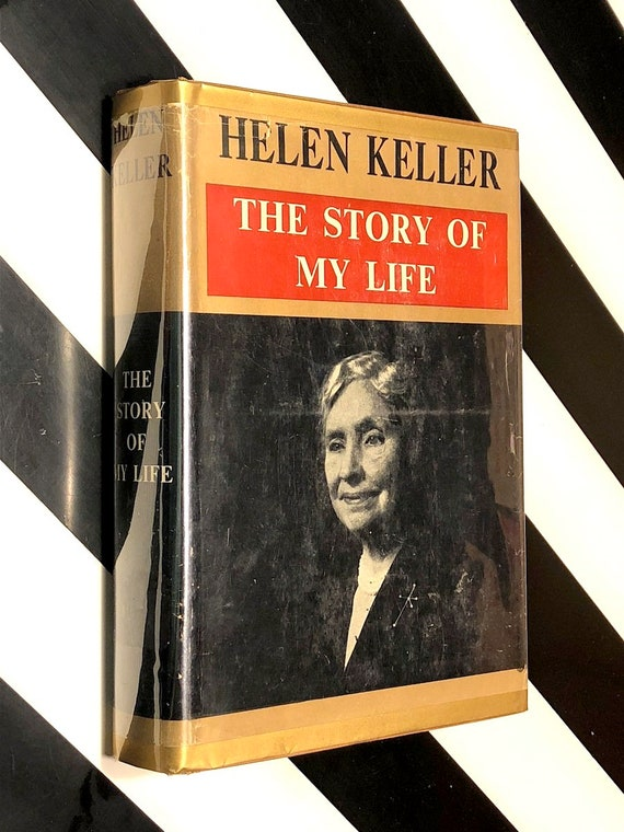The Story of My Life by Helen Keller (1954) hardcover book