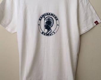 Kamehamea Hawaii Unused? Vintage T shirt Quicksilver