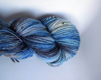 Eclectically Curious BFL Tweed Sock Yarn