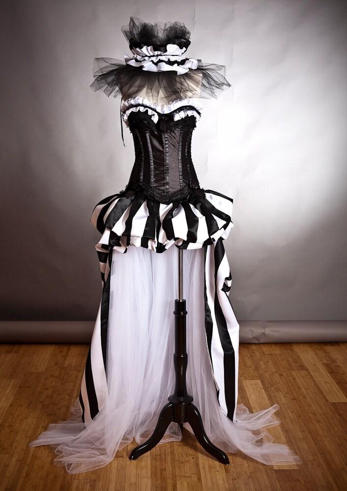 Vintage Circus Prom Dress