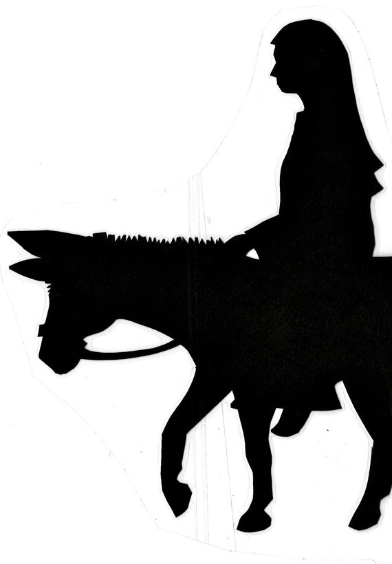 Christmas Story Shadow Puppets PATTERN DOWNLOAD