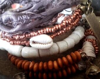 Weke - bracelets quartet ... by Ploummauy.