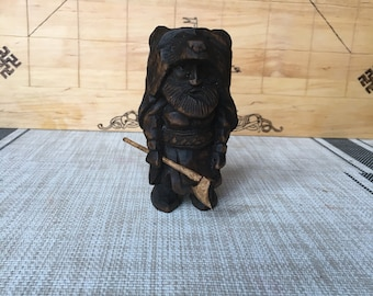 The wooden figure of Berserker