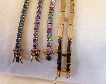 Joan Rivers changeable tennis bracelets