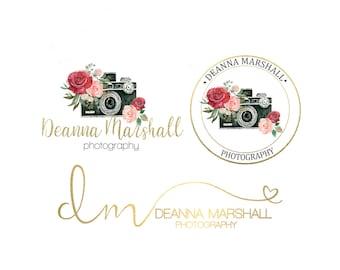 Premade Photography Logo/Watermark Branding Set