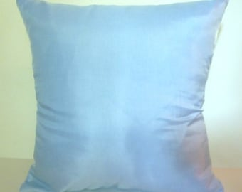 Closeout! Light Blue Pillow Cover Accent Throw 3 sizes