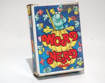 Word Nerd Game from Hasbro 1979