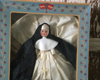Vintage Dolls Of All Nations Nun Doll/1950sNOS