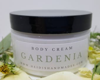 Gardenia Body Cream - Gardenia Lotion - For Gardenia Lovers