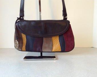 Relic Multi Color Patchwork Shoulder Bag