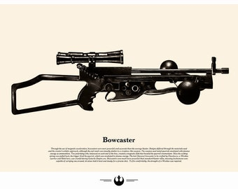 Star Wars Weapons - Chewbacca Bowcaster
