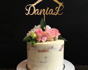 Jordan cake topper Etsy
